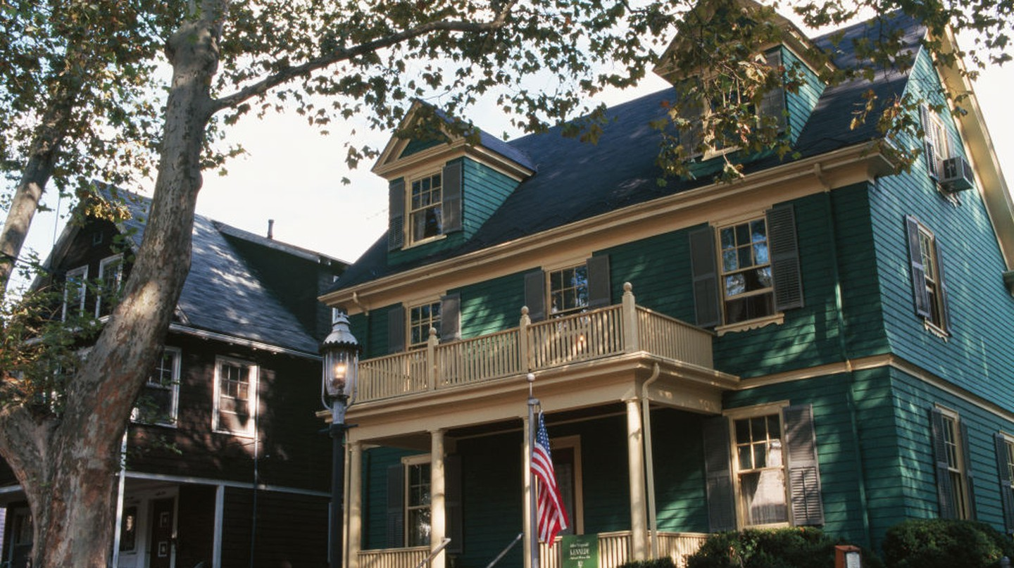 John Fitzgerald Kennedy was born in this home in the Boston suburb of Brookline