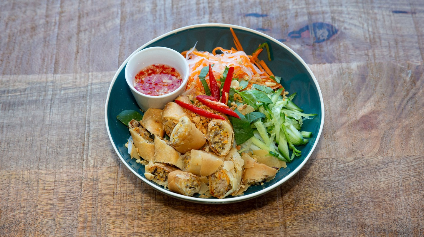 The bun cha gio is one delicious option at GōN Vietnamese in Edinburgh