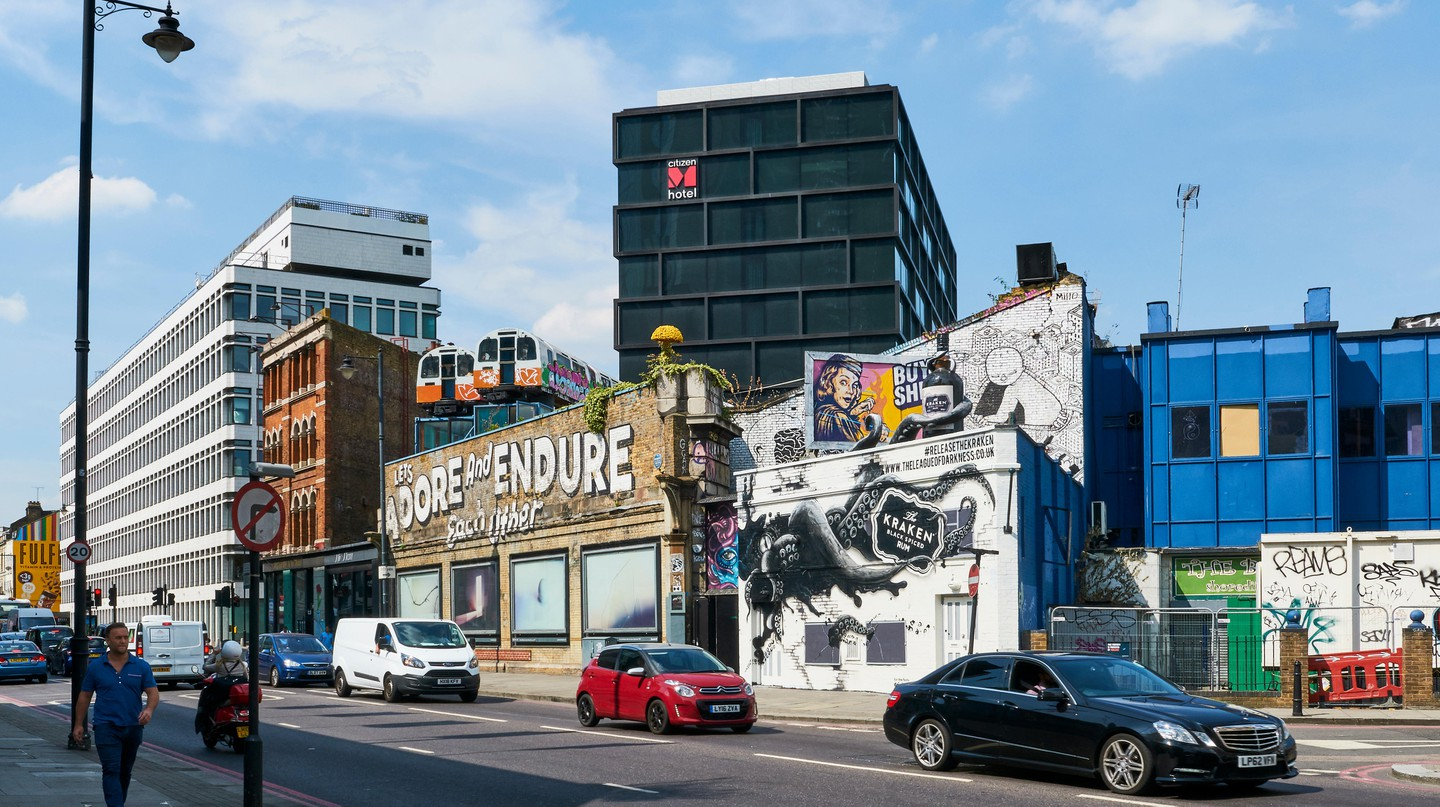 Shoreditch is one of London's coolest neighbourhoods