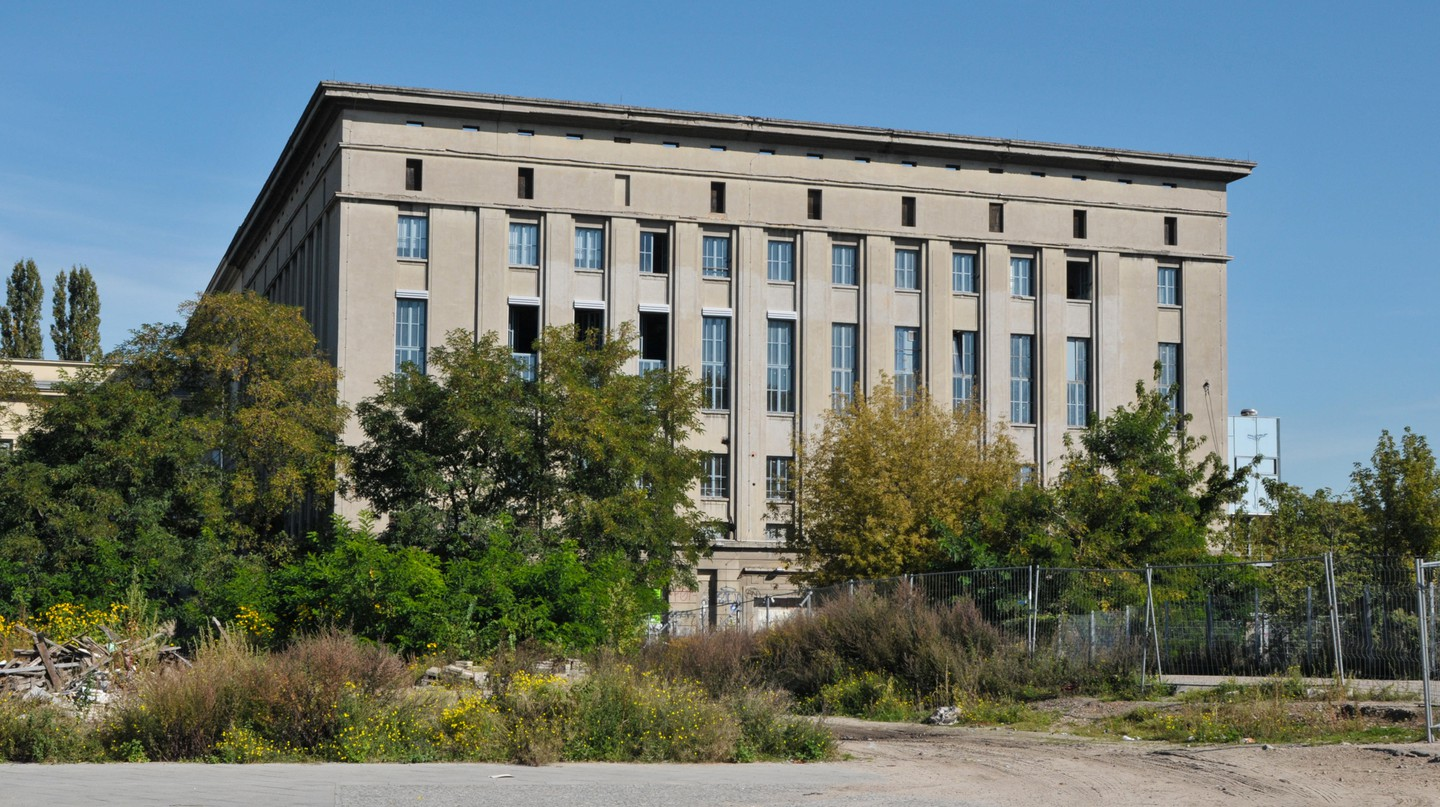Berghain operates a strict door policy