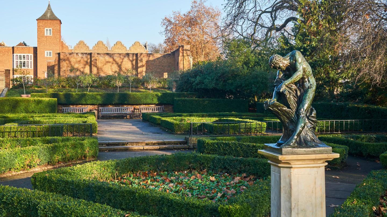 Holland House and the Dutch Garden, Holland Park, London