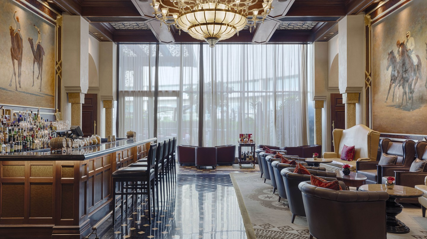 The St Regis bar is the spot for a stylish and sophisticated drink