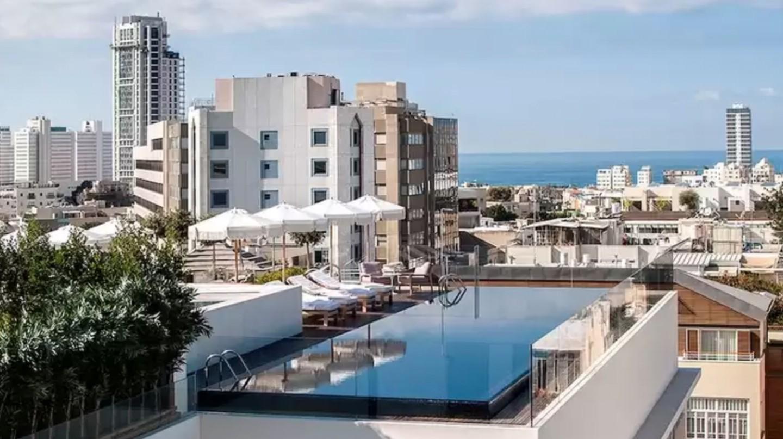 Cool down in The Norman Tel Aviv's infinity pool
