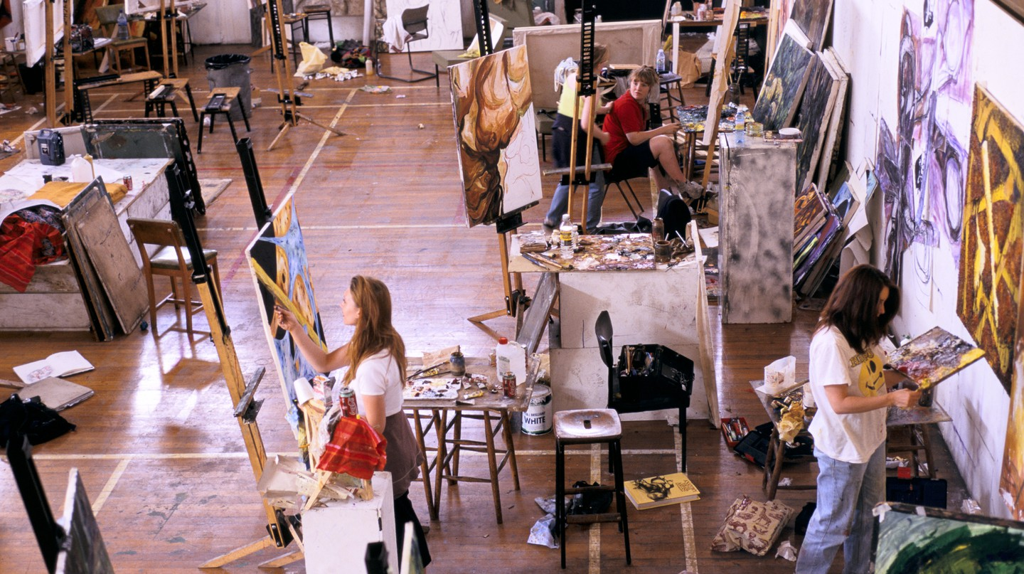 Take a painting class inspired by Amsterdam's world-class art