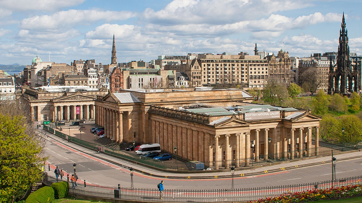 The Scottish National Gallery is one of many exciting attractions in Edinburgh
