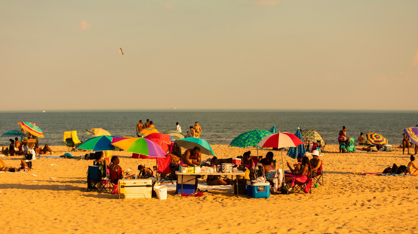 Getting away from the city in the summer can simply mean a quick trip to the Rockaways, New York City's local beach