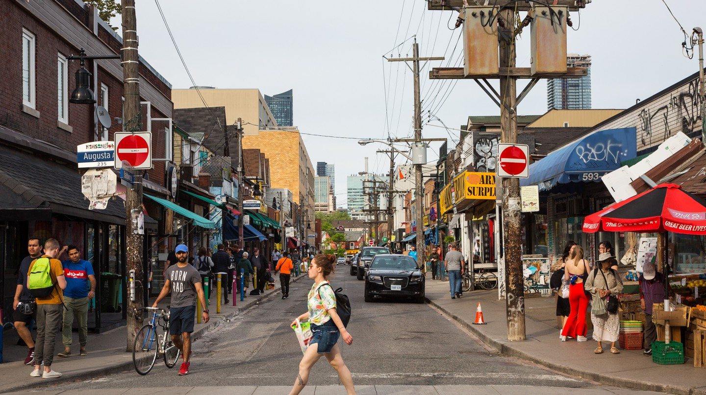 Taste global flavors in Toronto's Kensington Market neighborhood
