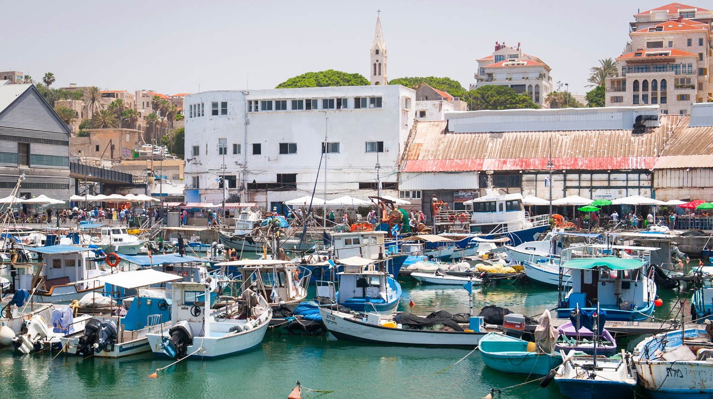 Harbour in Jaffa, Tel Aviv