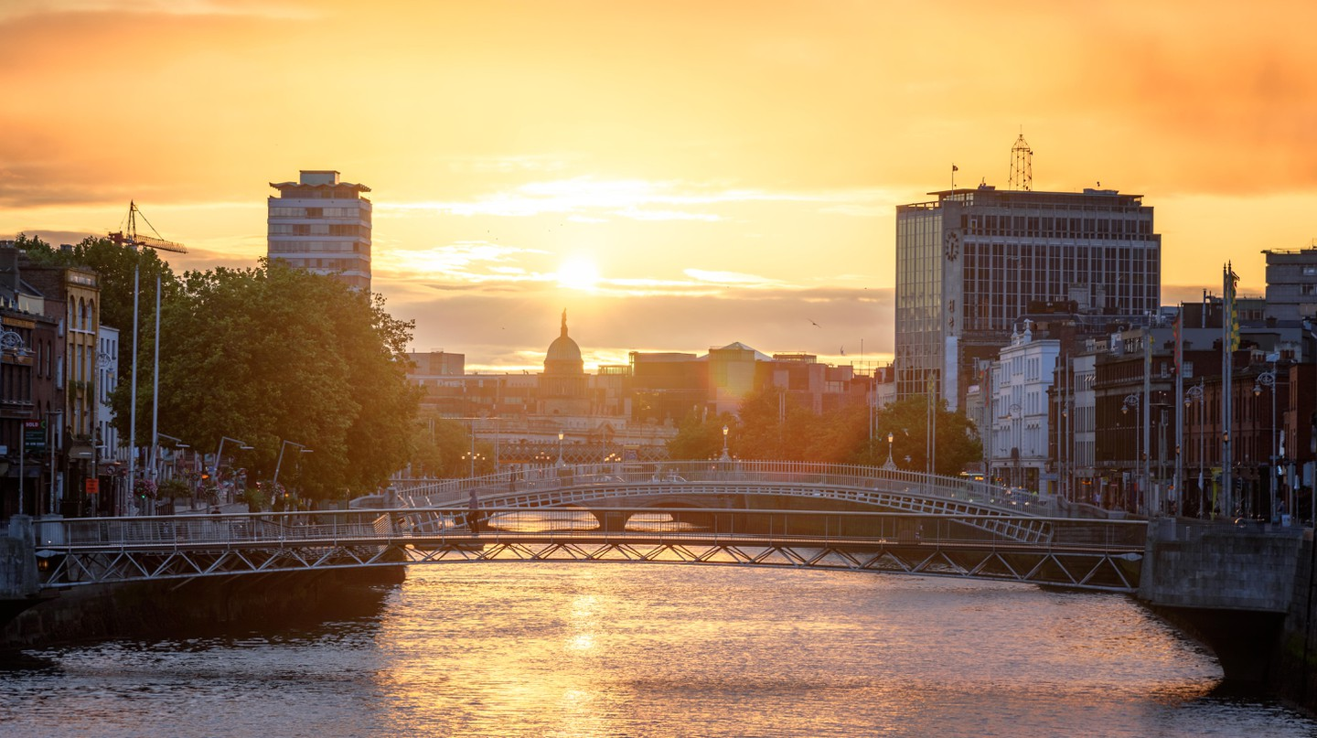 Dublin, with the Liffey running through it, is small enough to get around by foot, and has plenty to offer for a weekend visit