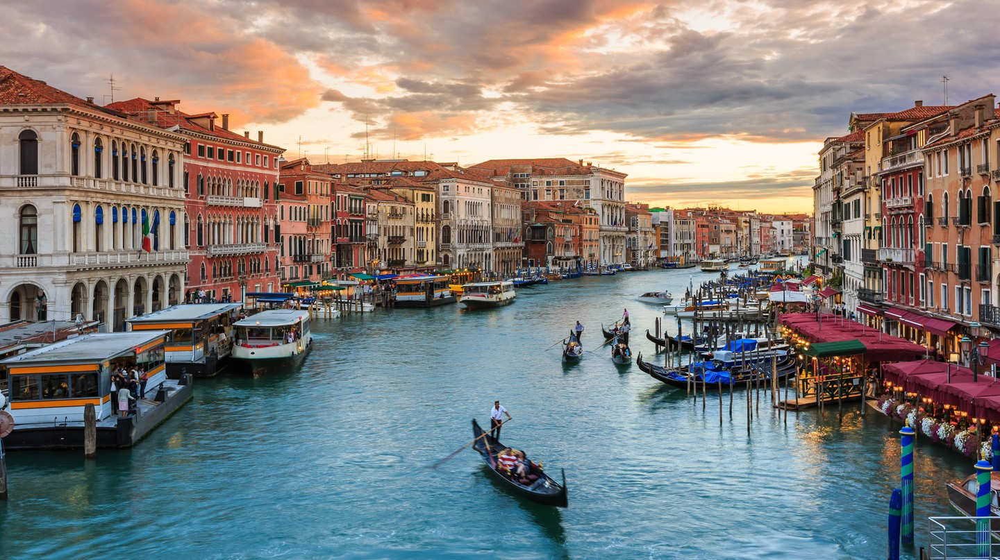 Venice is home to many charming bed and breakfasts, many with inspiring views