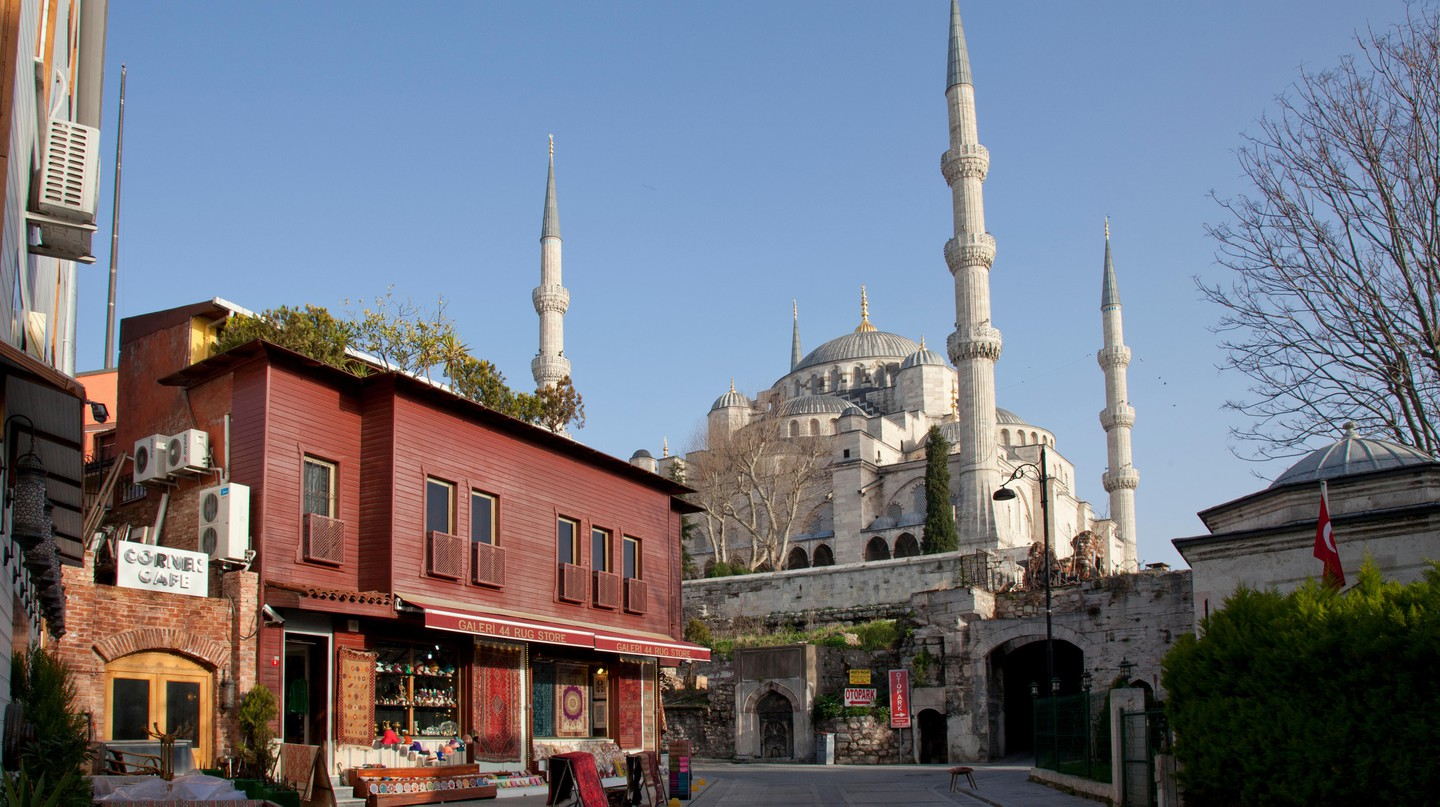The Blue Mosque is one must-see attraction in Sultanahmet, Istanbul