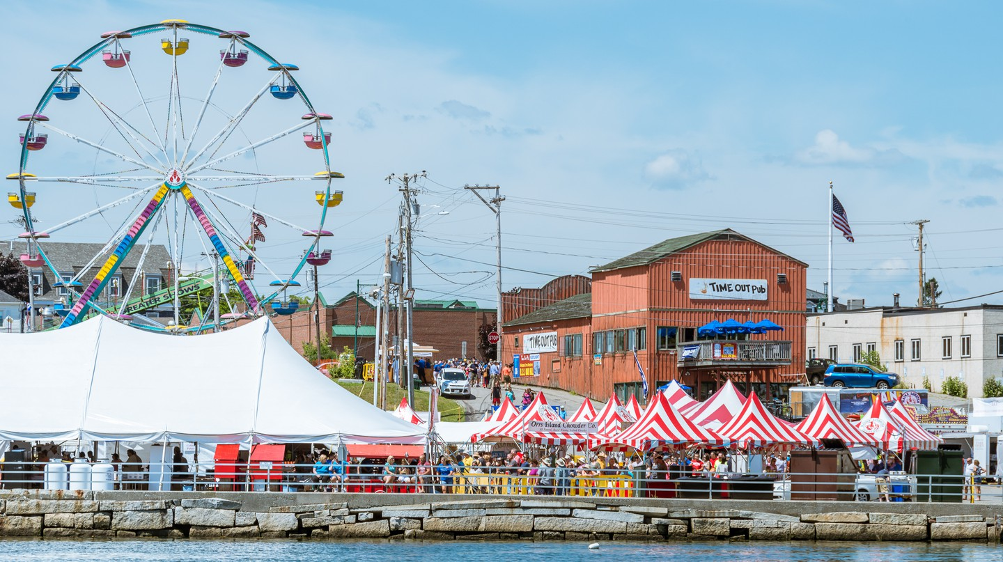 The Maine Lobster Festival is a frenzied celebration of Maine's most famous food