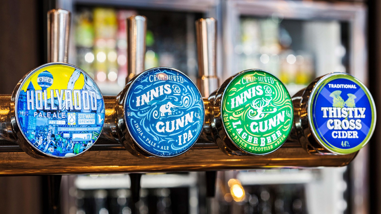 Edinburgh has a thriving craft beer scene