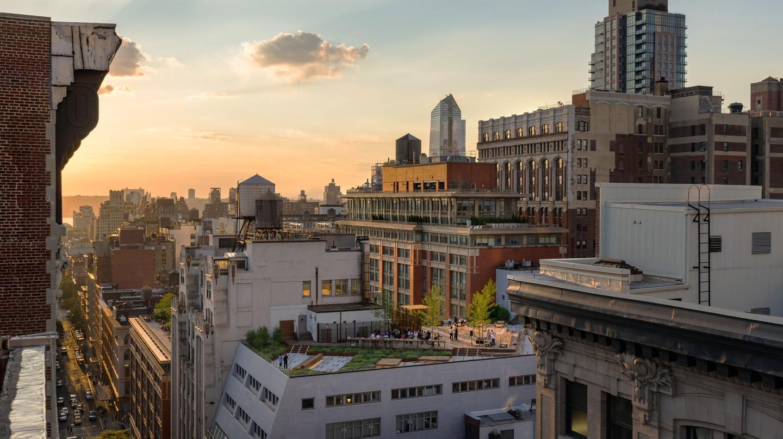 Chelsea rooftops, Manhattan, New York City