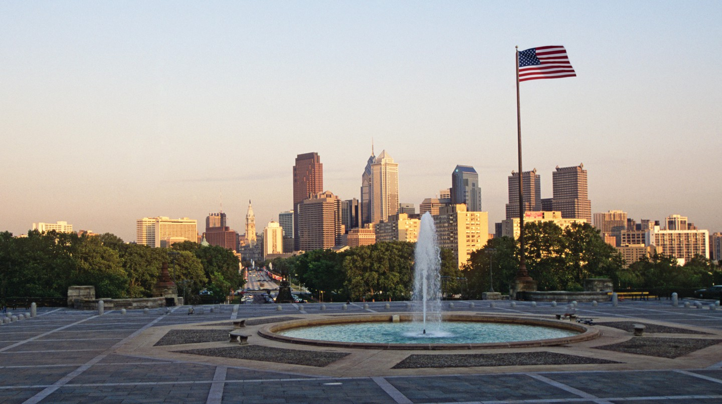 Philadelphia can be a hectic city, so make time to explore its green spaces