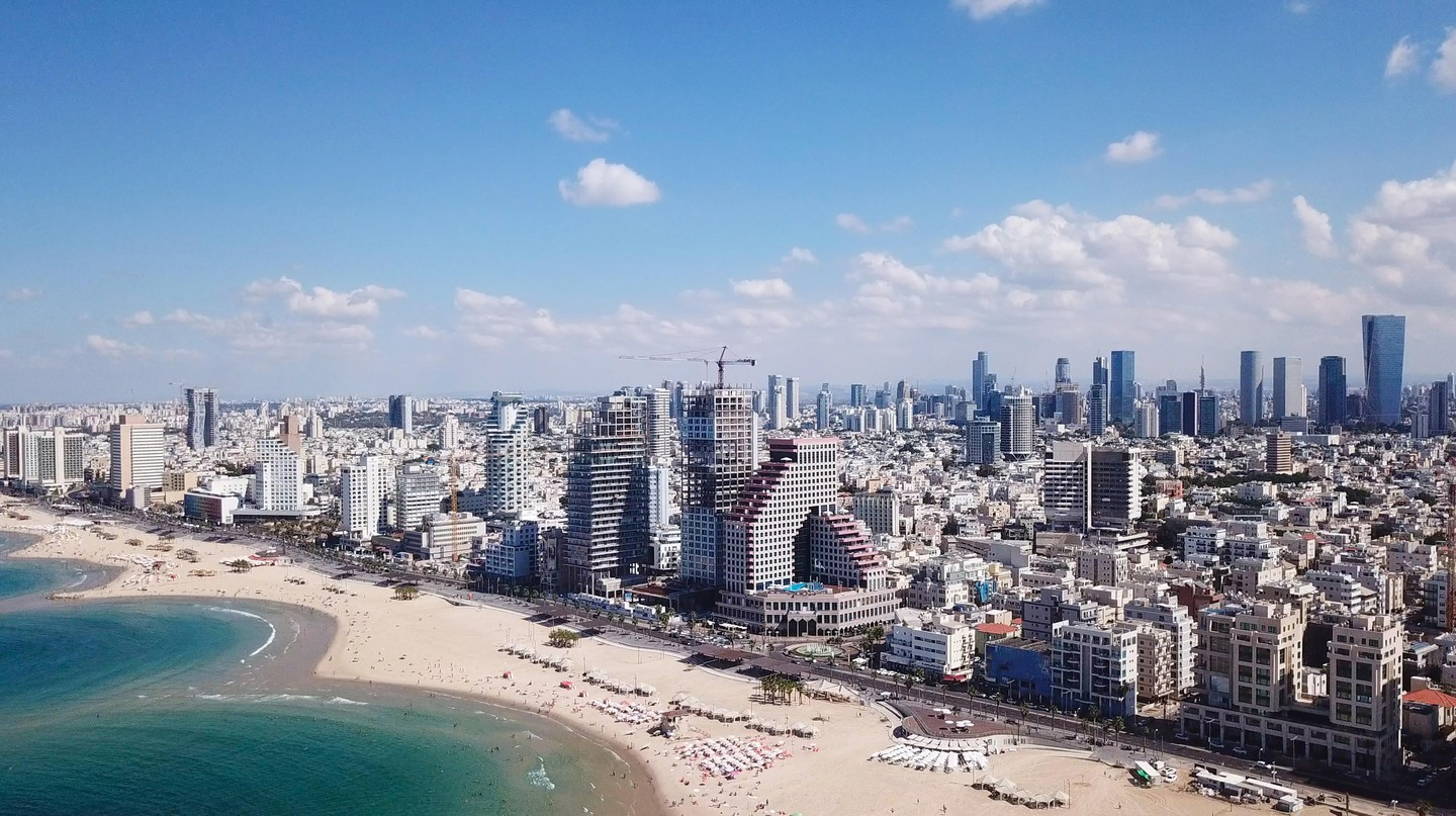 Tel Aviv's architecture reflects Israel's mix of cultural styles and influences