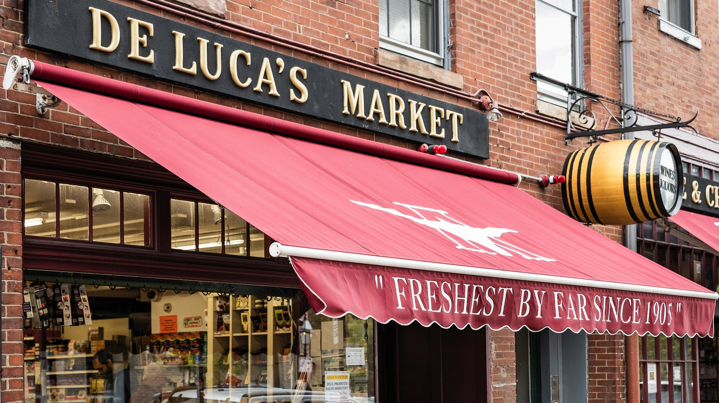 DeLuca's Market opened on Beacon Hill over 100 years ago