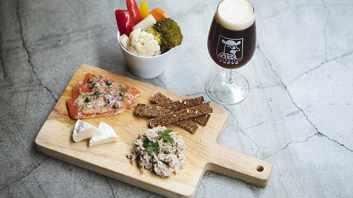 The popular microbrewery Mikkeller is part of Tokyo's very diverse bar scene