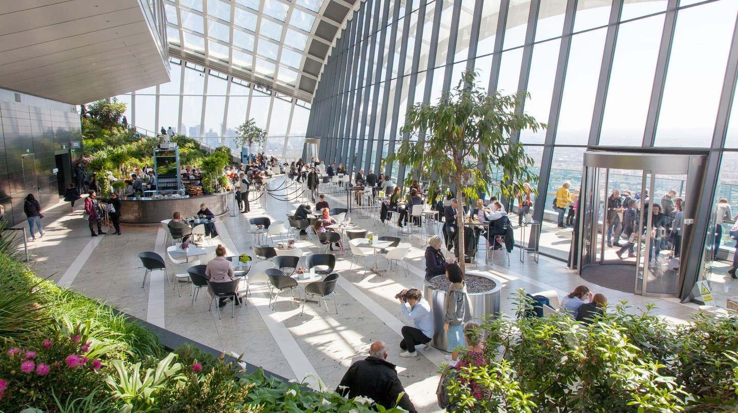 Book ahead for spectacular views at the Sky Garden
