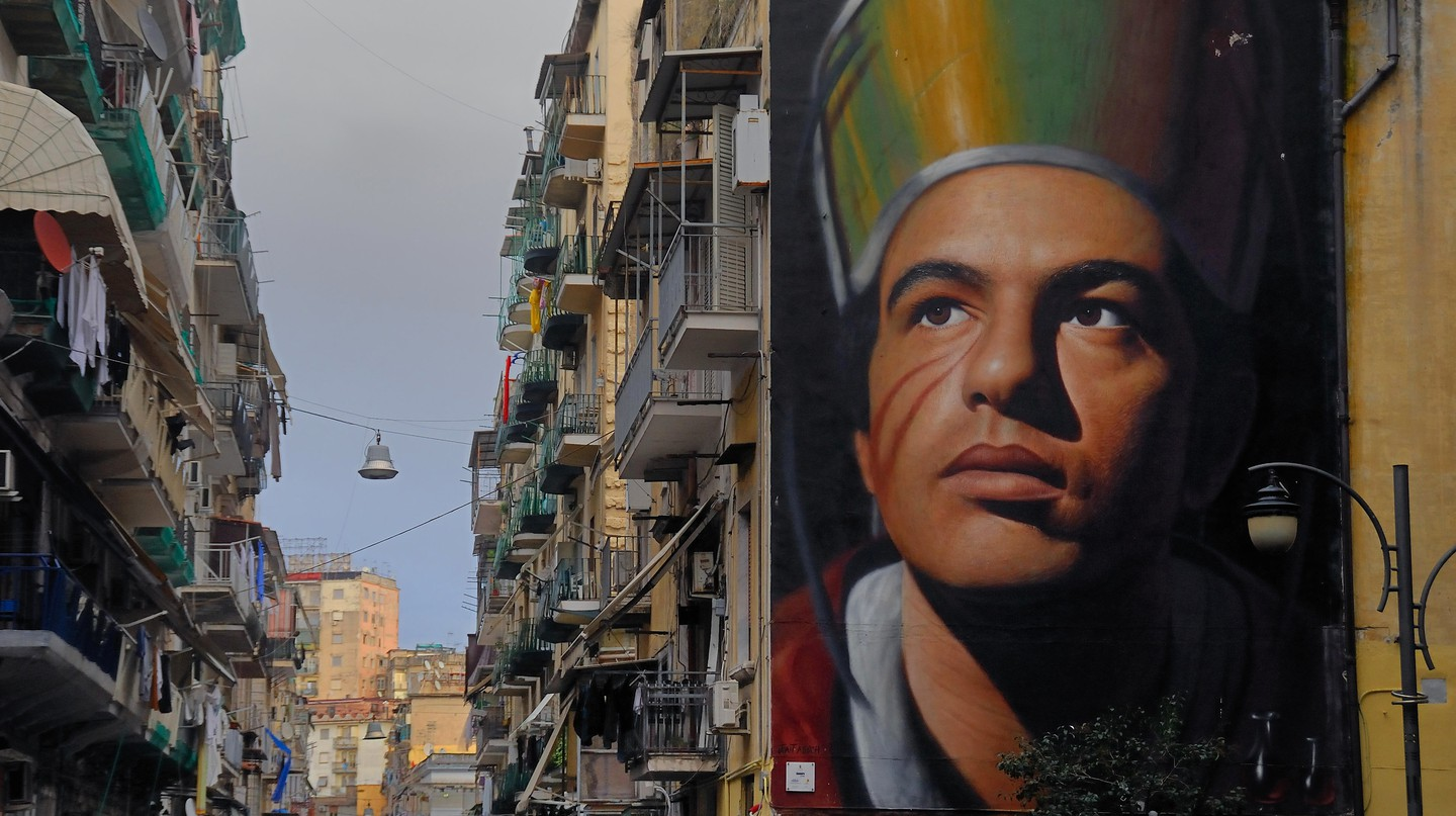 Jorit Agoch is helping to transform Naples with his street art
