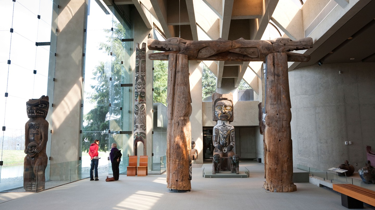 The Museum of Anthropology highlights traditional and contemporary Indigenous art