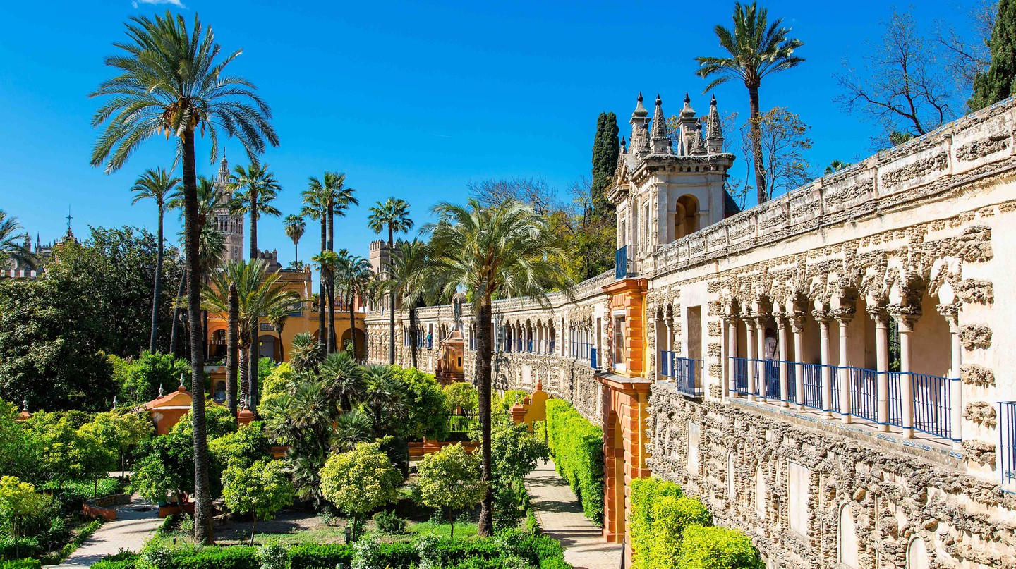 Seville and its alcázar make for a great day trip from Madrid