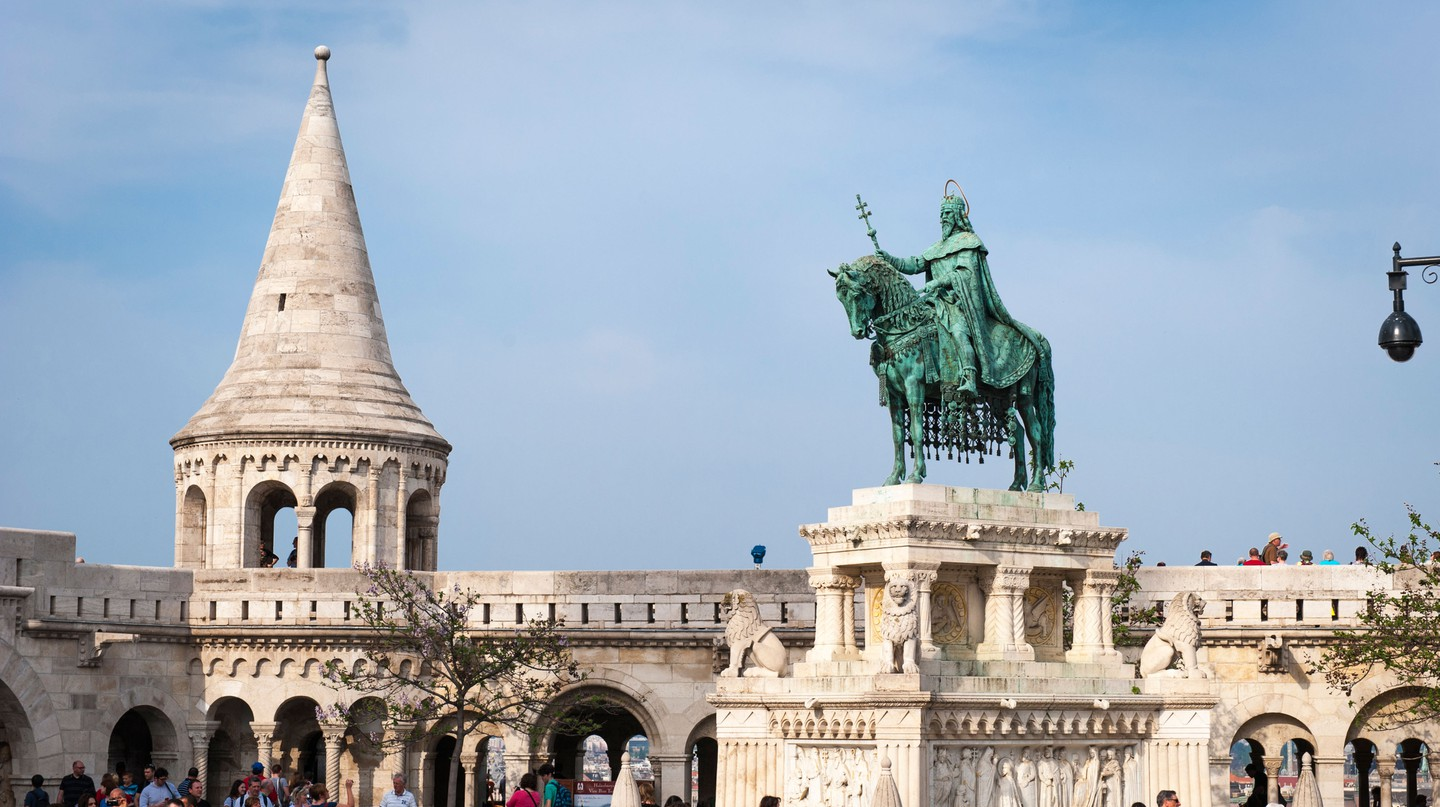 Fisherman's Bastion is located within Buda Castle