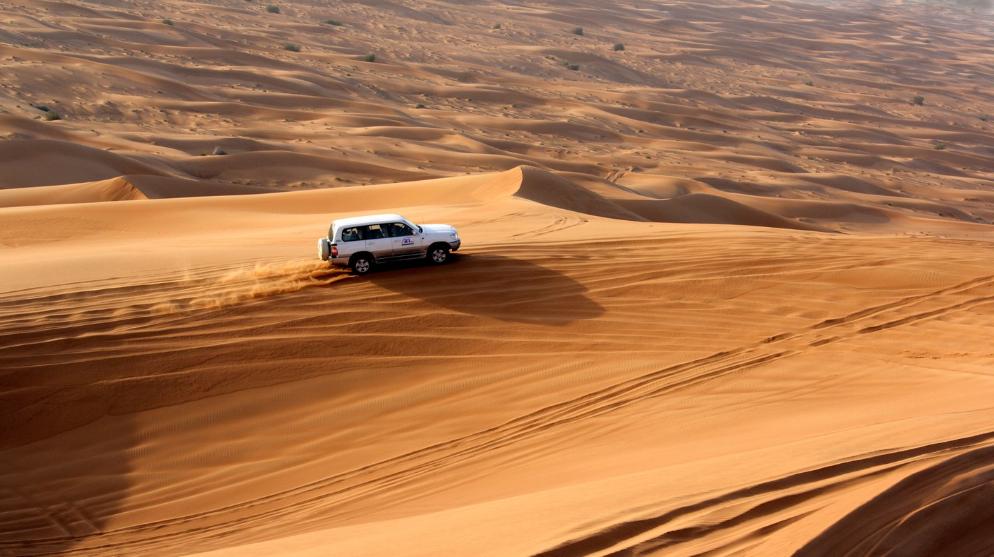 Dune bashing is one of many adventures in Dubai