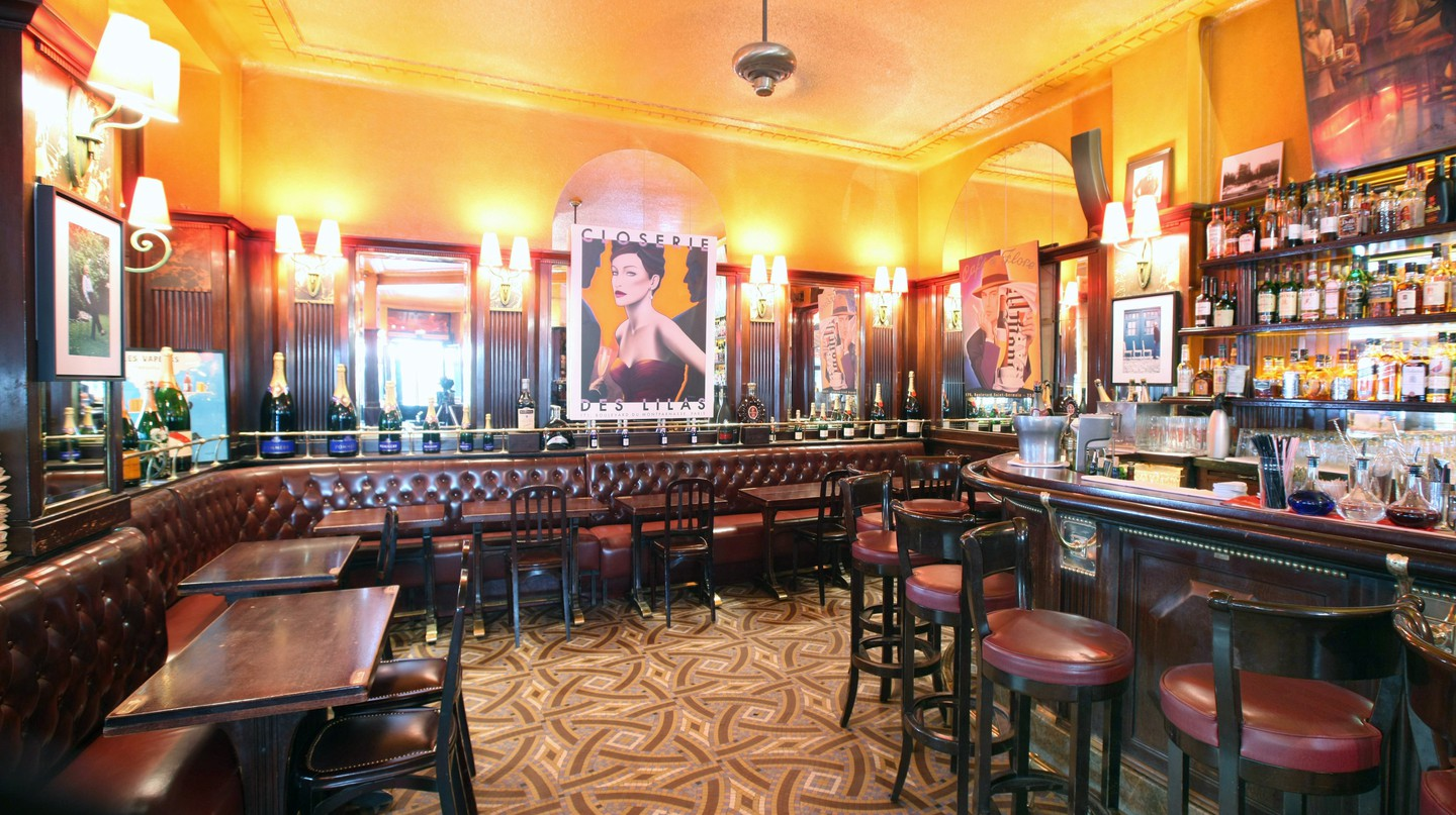 Head to La Closerie des Lilas, a favourite haunt of Ernest Hemingway and F Scott Fitzgerald