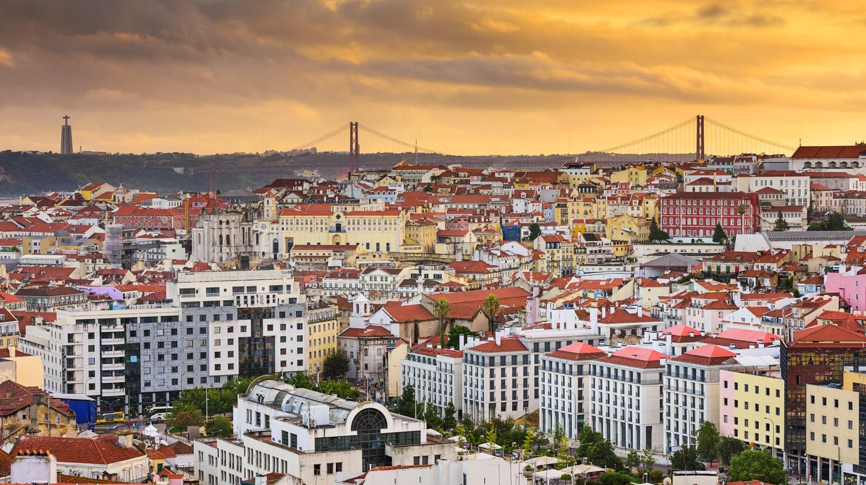 Lisbon has incredible scenes around every corner