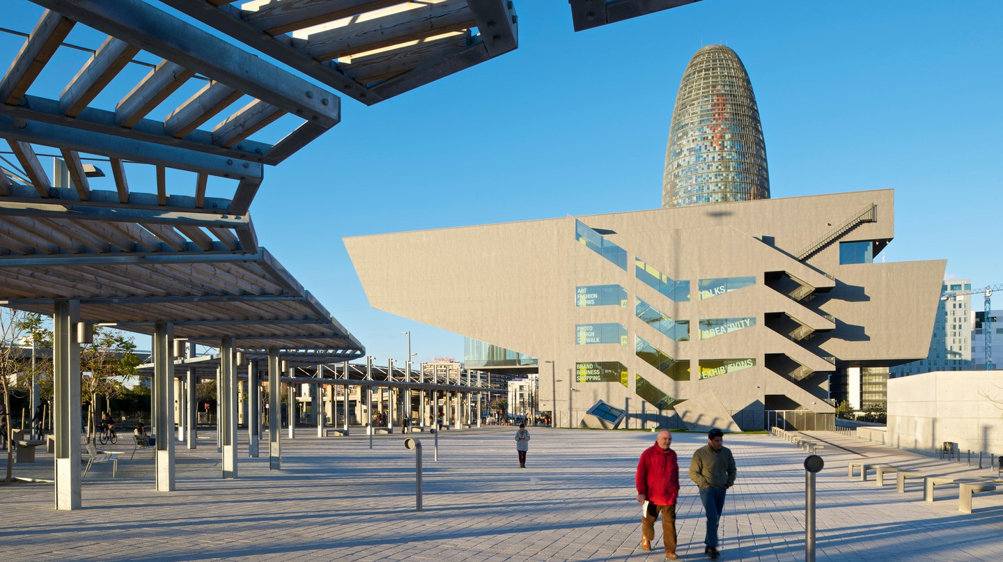 Barcelona is packed with unique architecture