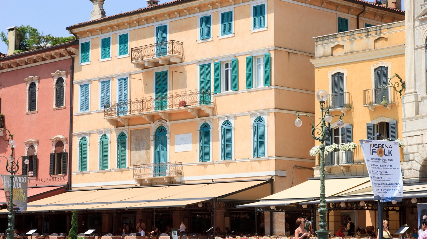 There's plenty of great dining options in Verona, after you've visited Juliet's house