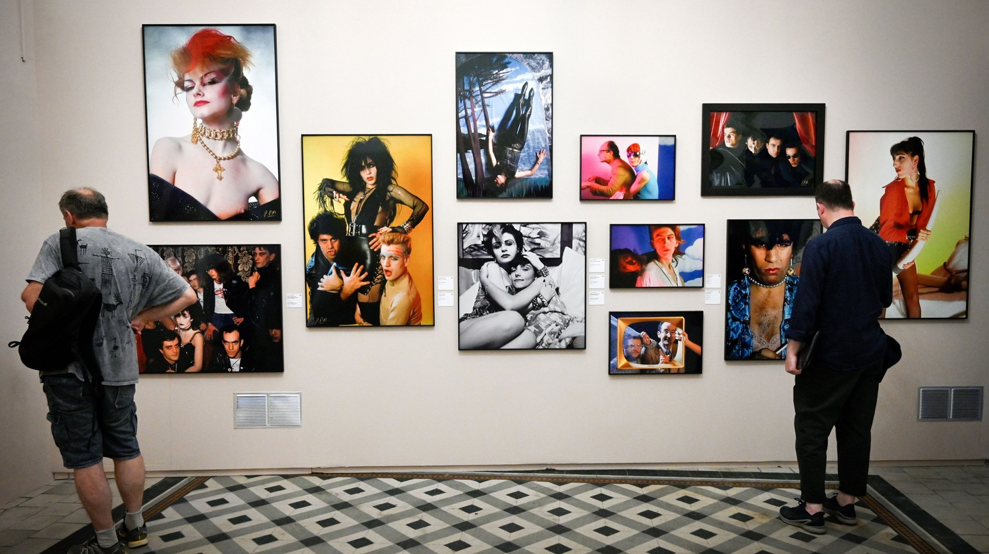 'La Movida: A Chronicle of Turmoil' was on show at Les Rencontres d'Arles photography festival in the south of France