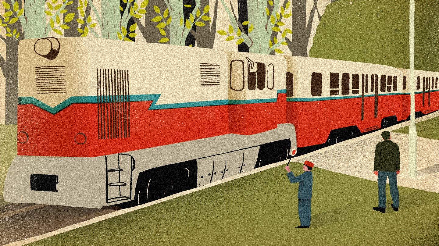 All Aboard the Budapest Railway Staffed (Almost) Entirely By Children