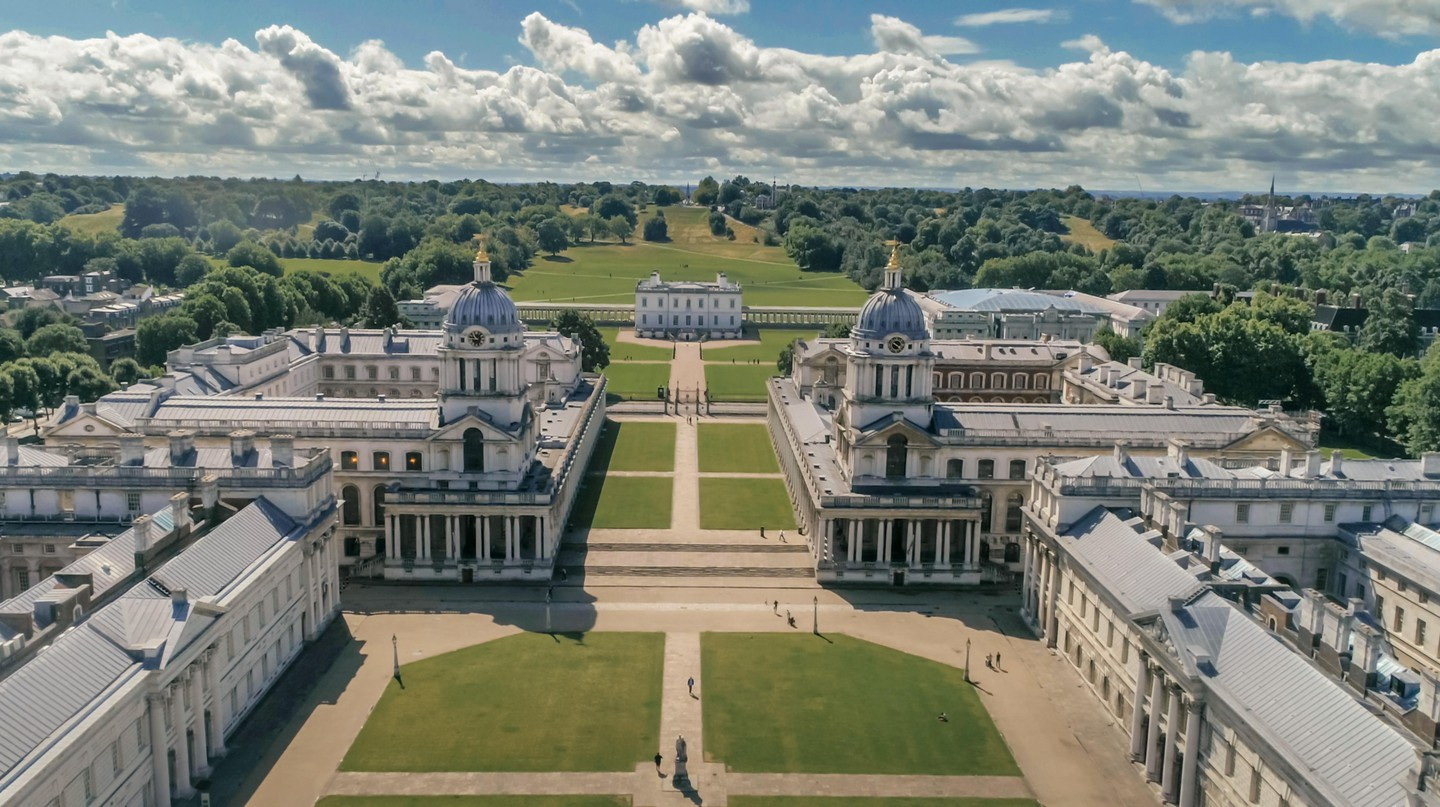 The Old Royal Naval College is one of many historic buildings in Greenwich