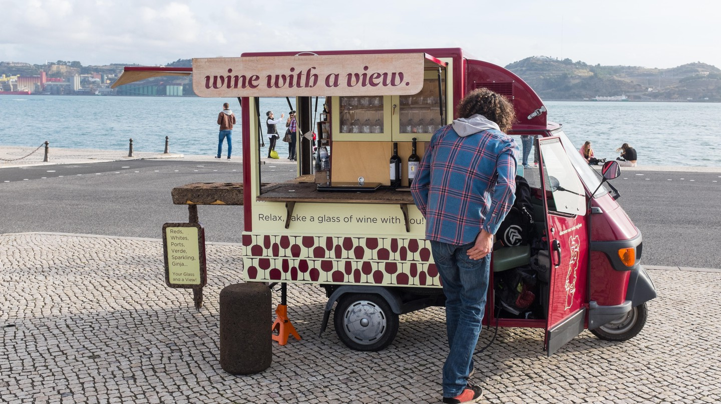 There are many great spots to enjoy a glass of wine in Lisbon