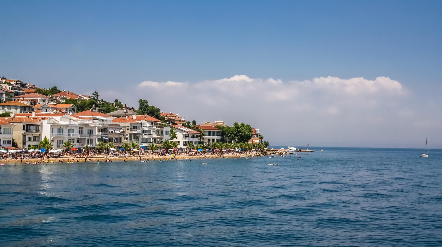 Kinaliada is a short ferry ride from Istanbul
