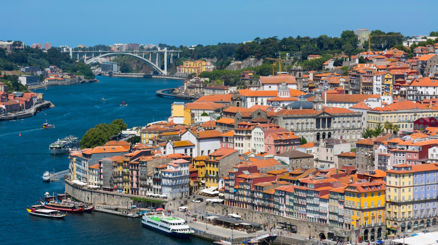Ribeira district, Porto, Portugal