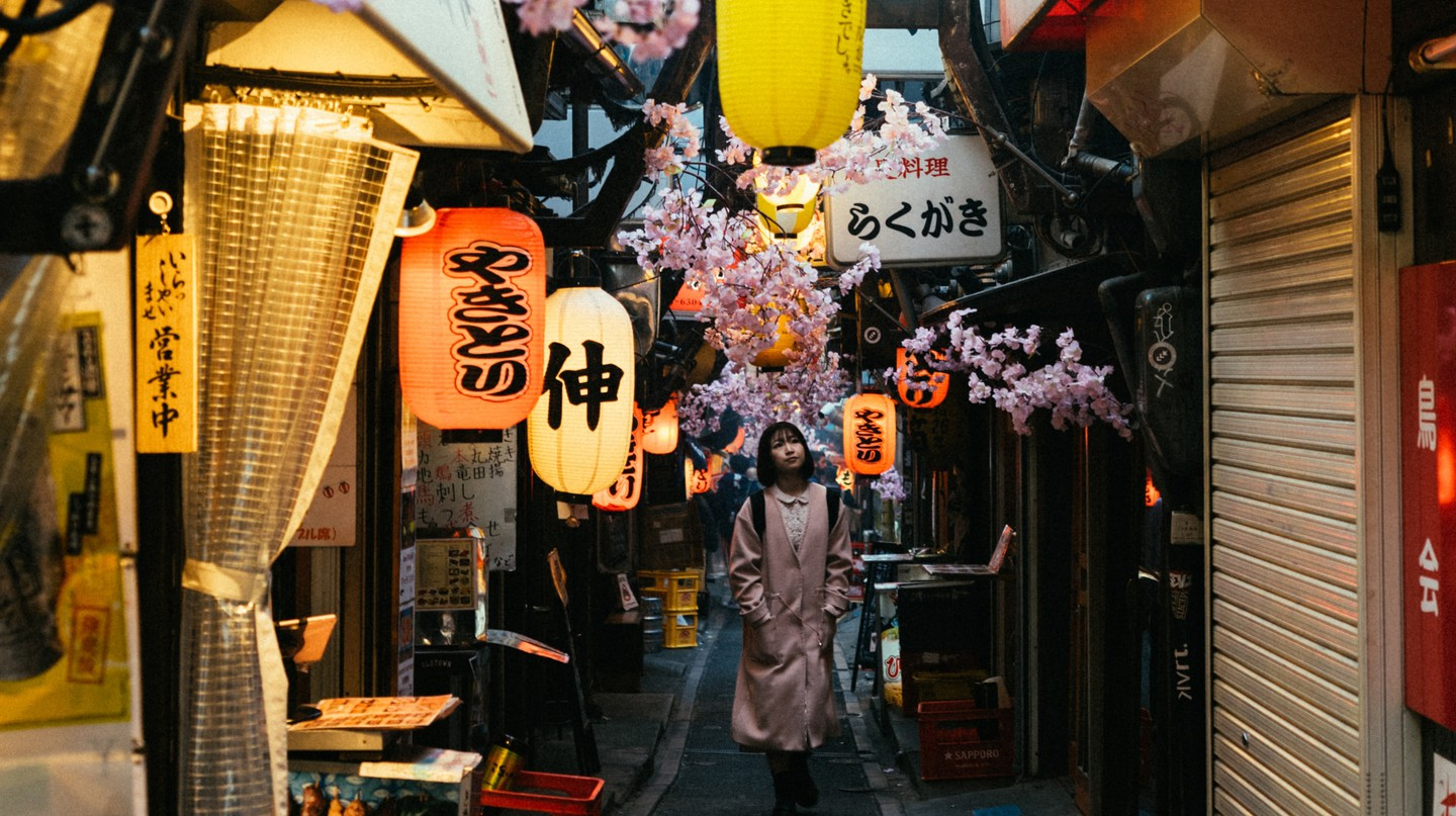 Spend time wandering Tokyo's many backstreets