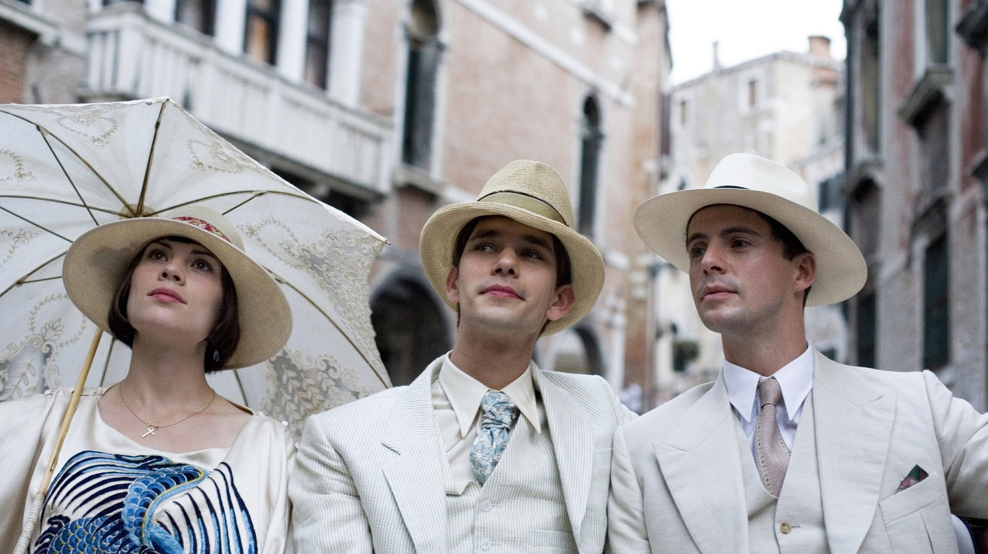 Hayley Atwell, Ben Whishaw and Matthew Goode star in 'Brideshead Revisited', Julian Jarrold's adaptation of the Evelyn Waugh novel