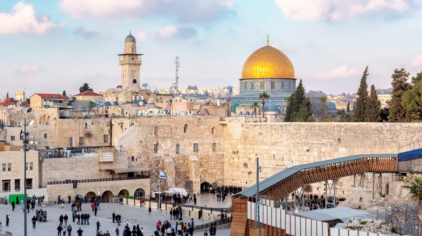 Jerusalem's Temple Mount/Haram esh-Sharif is an important site for the world's three major monotheistic religions