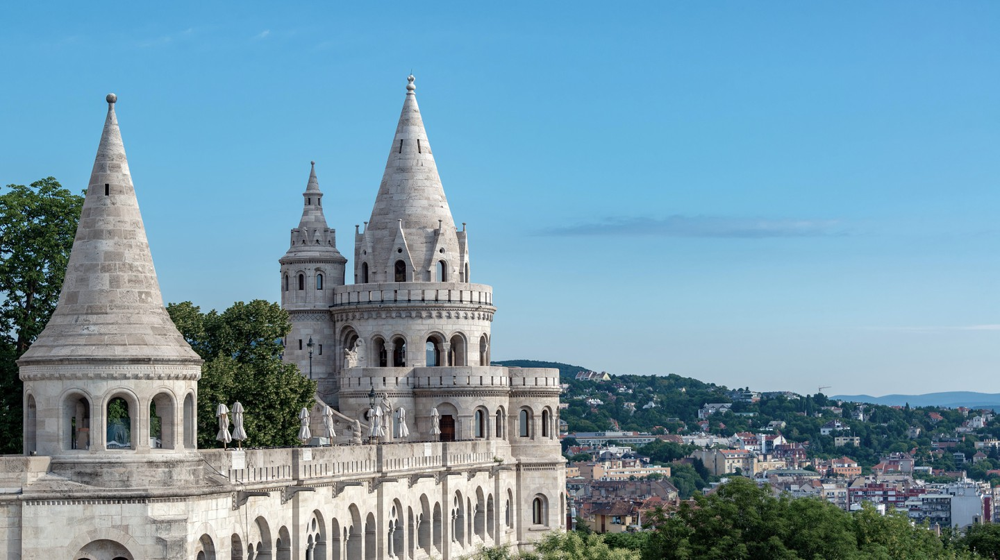 Enjoy sights like Fisherman's Bastion on a tour through Budapest