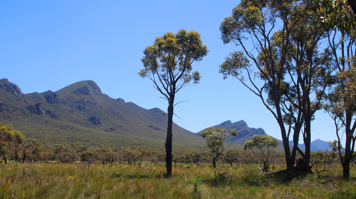 The Grampians is a short trip from Melbourne