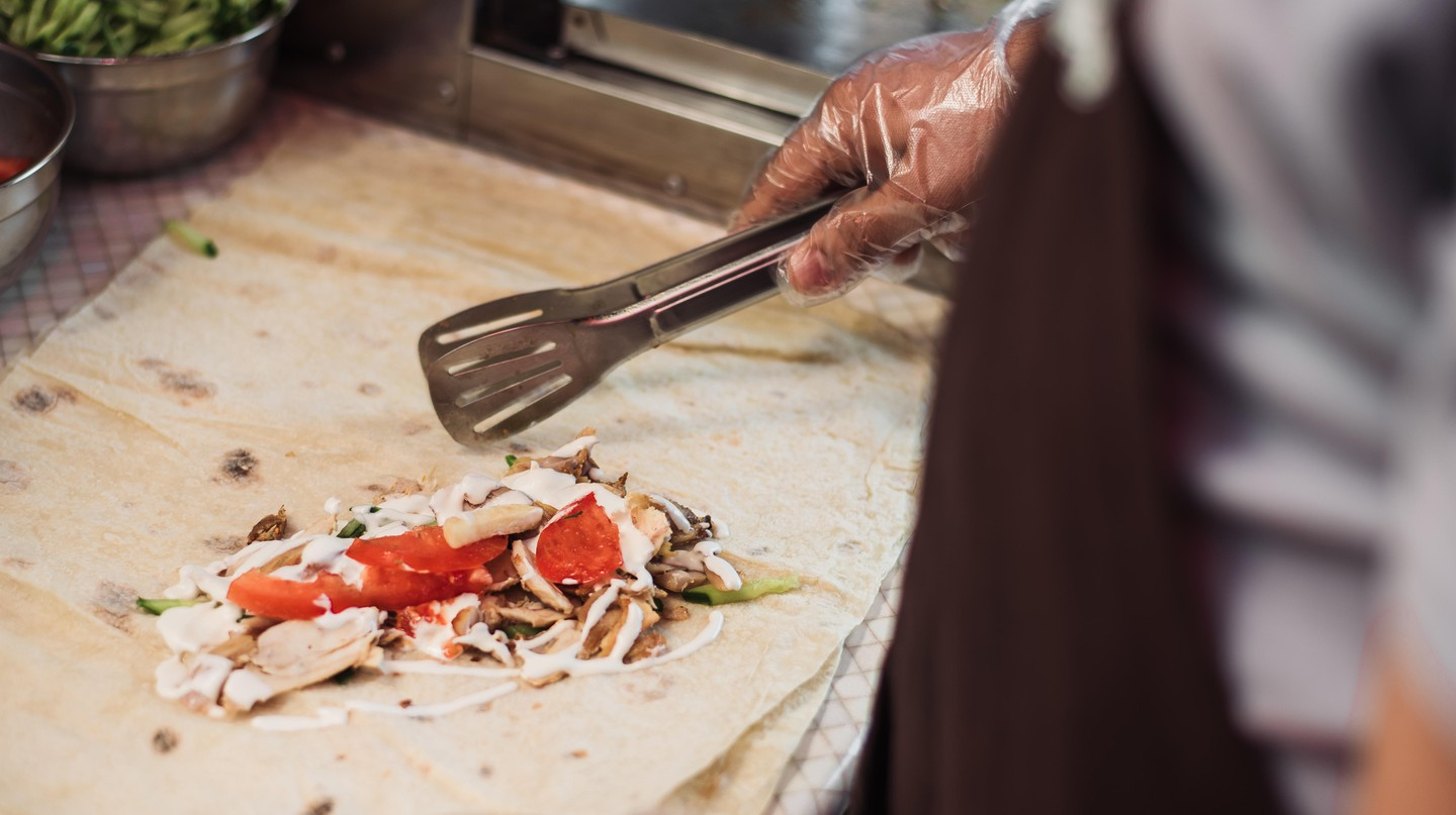 Discover a love of shawarma in Dubai