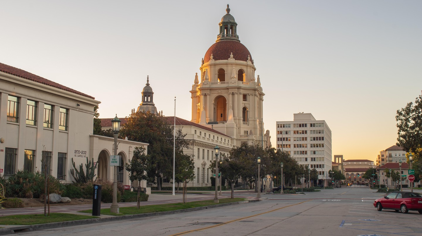 Pasadena has beautiful historic neighborhoods and architecture