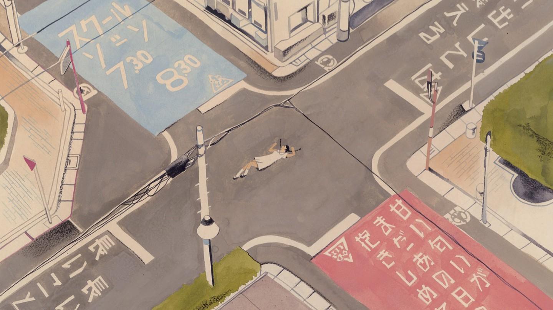 Tokyo Drift: Shiori Fujioka's Dreamy Sketches Show a Calmer Side of Tokyo