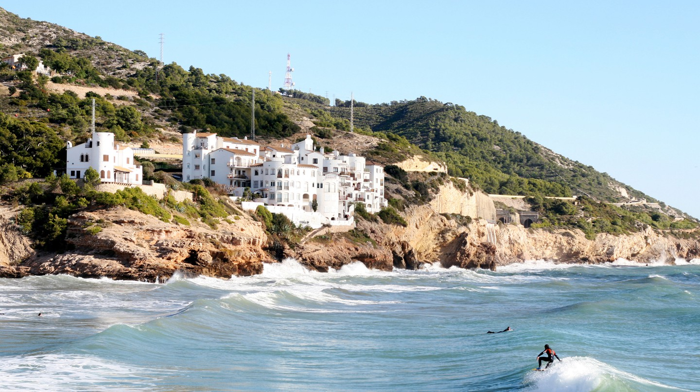 The coastal town of Sitges makes for the perfect day trip from Barcelona