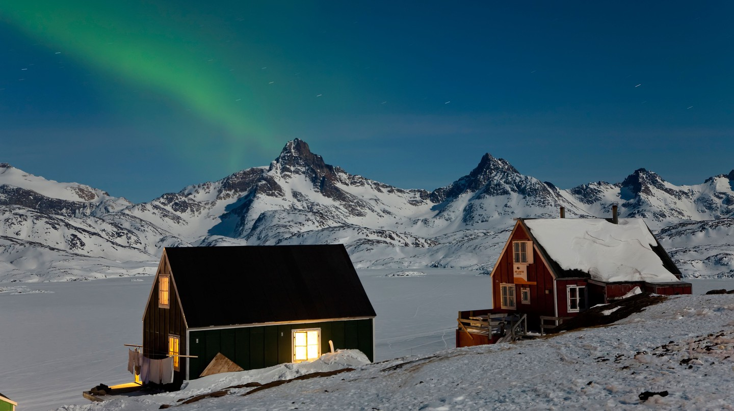 Northern Polar Lights, Tasiilaq, E. Greenland