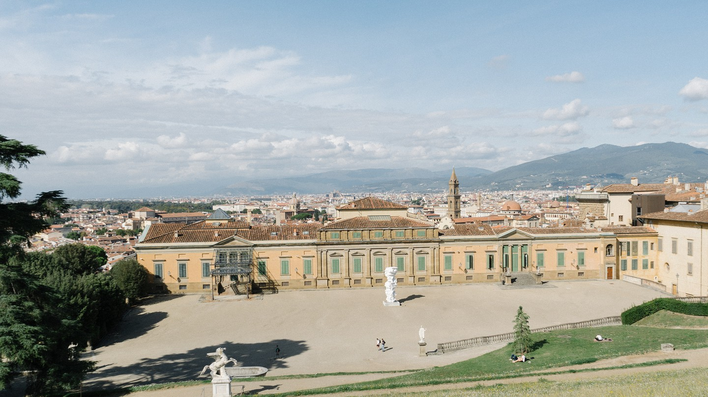 Gucci contributed to the restoration of Boboli Gardens