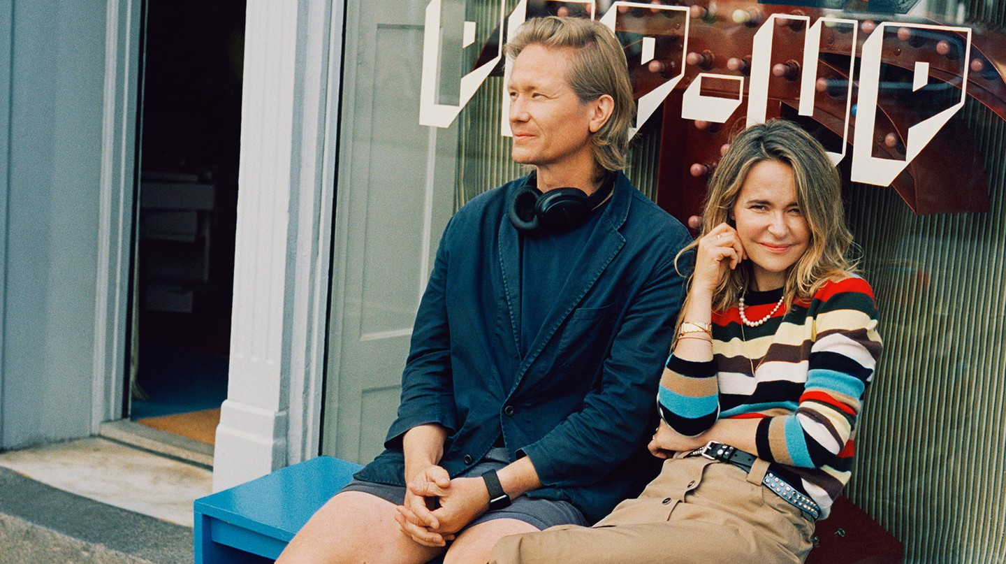 Ditte and Nicolaj Reffstrup are the wife-and-husband team behind the coveted Danish fashion brand Ganni